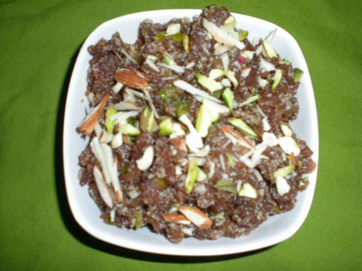 Chickoo Halwa Recipe