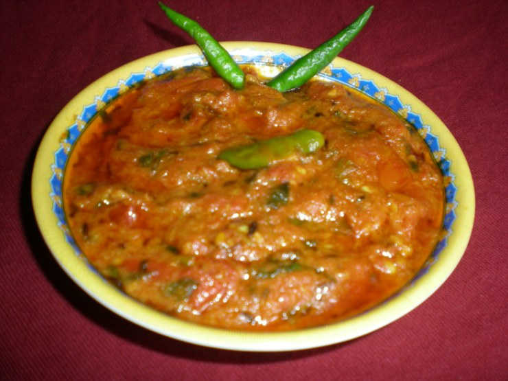 Tomato Chilli Chutney Recipe