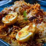 Egg Biriyani Recipe