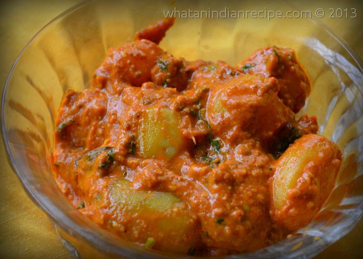 Kashmiri Aloo Dum Recipe