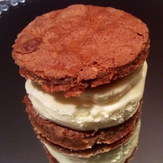 coconut palm sugar meringue icecream sandwich