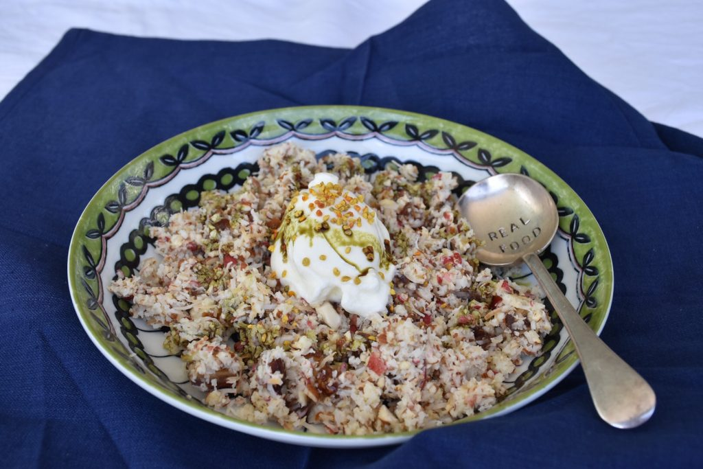 bircher muesli for the thermomix