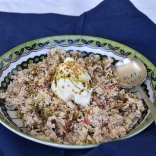 Bircher muesli in an instant.