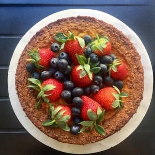 Gluten Free Baked Cheesecake
