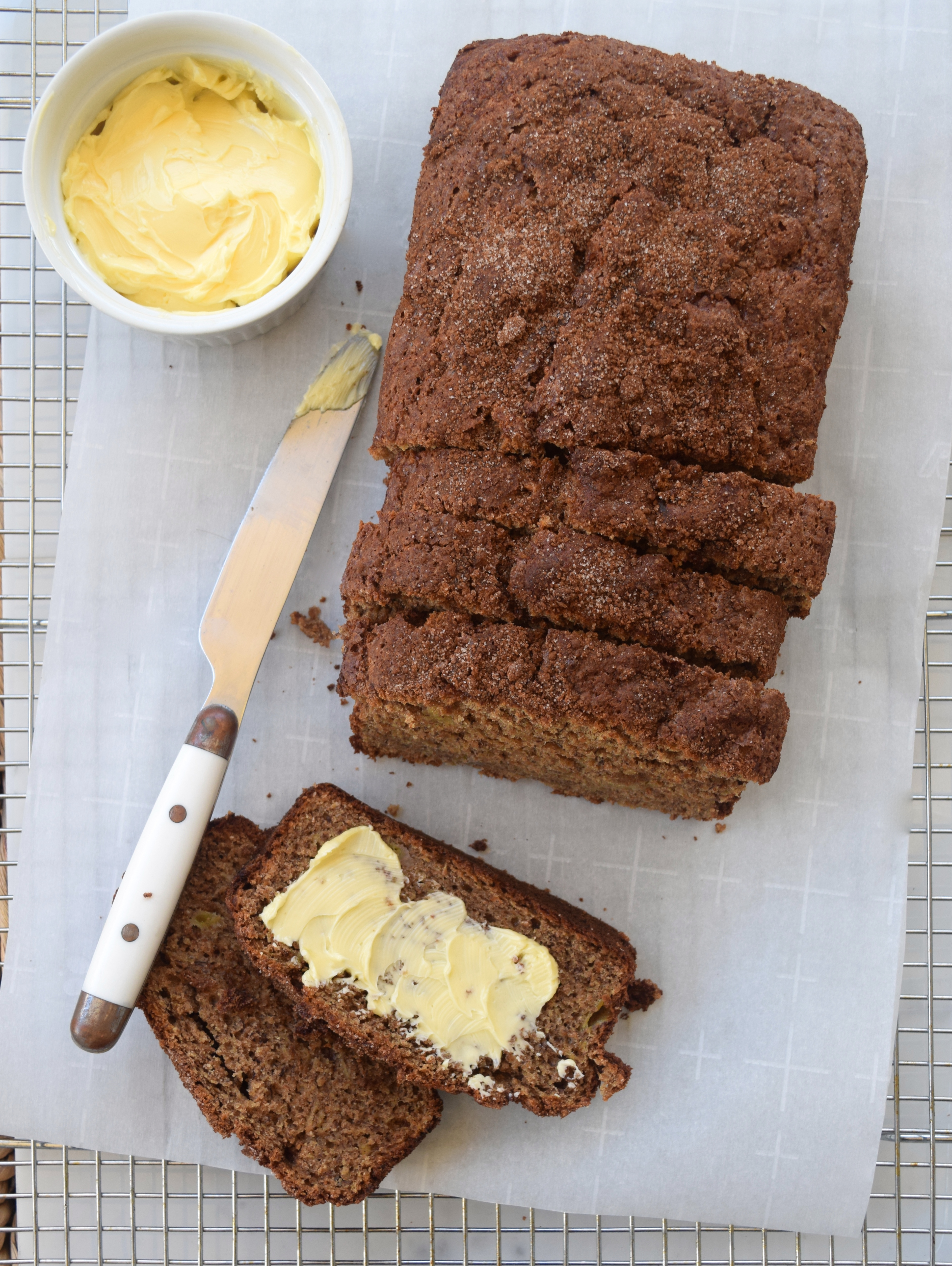 Browned Butter Banana Bread | What Annie's Eating