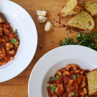 Healthy + Easy Weeknight Cannellini Bean Stew