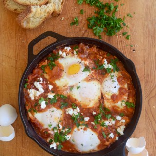 Shakshuka with Chipotles in Adobo Sauce