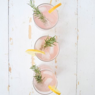 Grapefruit + Rosemary Cocktail