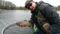 1 1/4lb Brown Trout