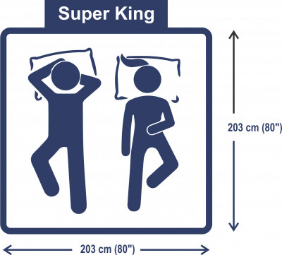 Super King size bed & mattress dimensions