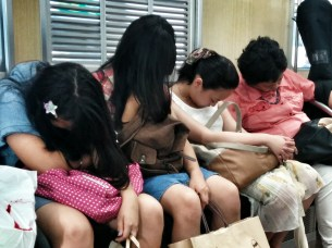 Dormir dans le train au Japon