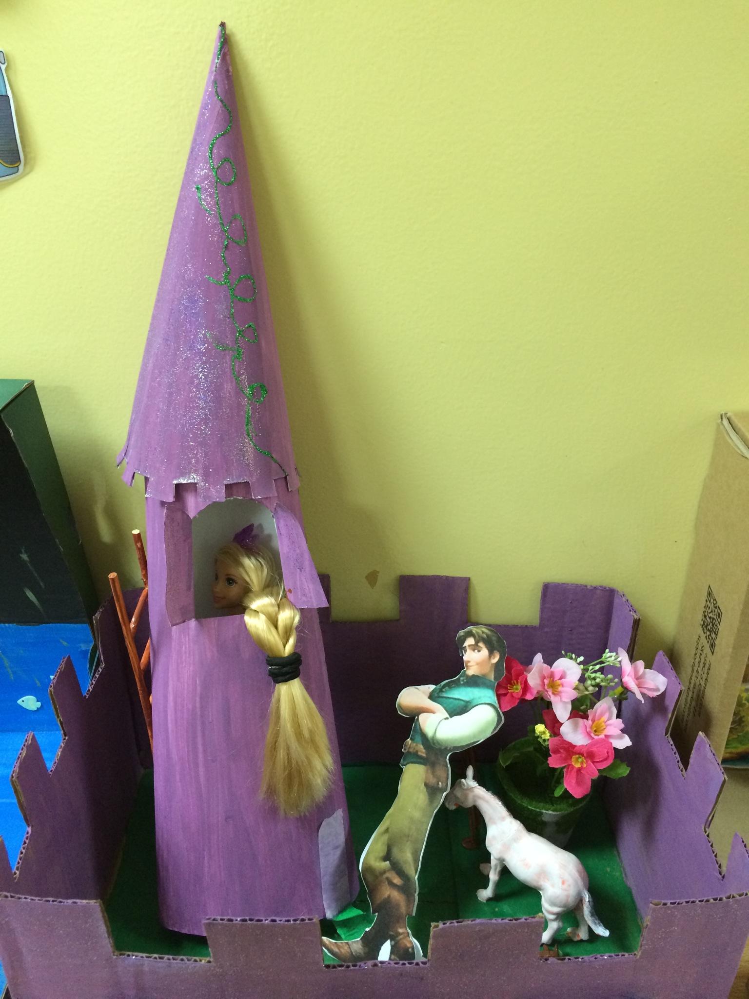 Images Of Rapunzel Story