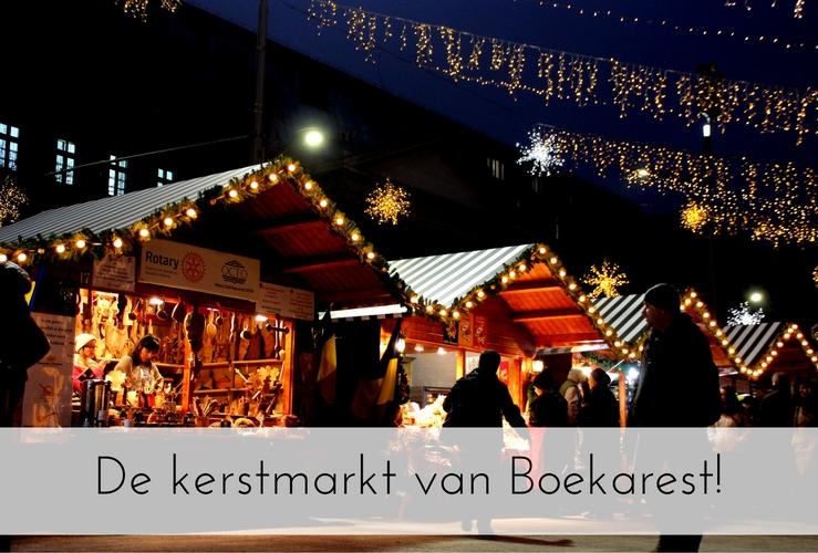 De kerstmarkt van Boekarest!