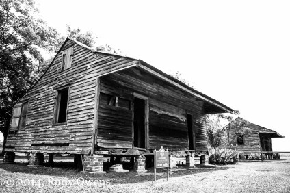 These are some of the few slave quarters still on display in the South, showing visitors how the enslaved black residents of Louisiana lived as property of white slave holders (and in some cases, Creole owners).