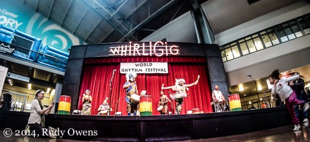 Guinean traditions take the main stage at the Seattle Center on April 5, at the World Rhythm Festival (2014).