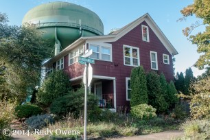 Water Tower and House Portland
