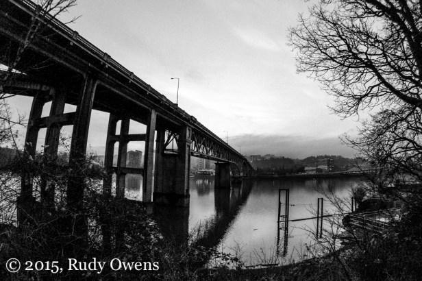 Ross Island Bridge Photo