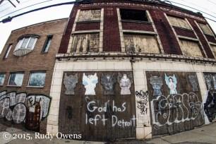 Abandoned buildings on Jefferson