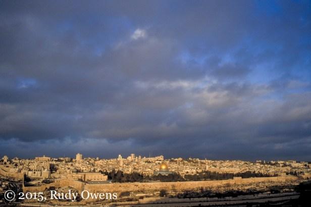 Jerusalem in Winter Light