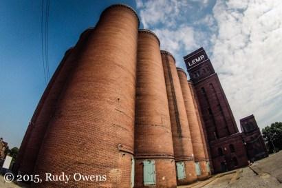 Grain Elevators, Lemp Brewery