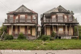 Duplexes Abandoned, East Detroit