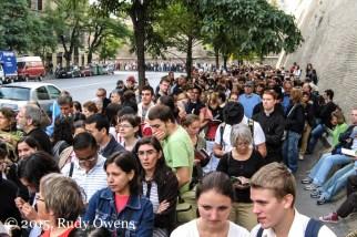 Vatican City Tourists