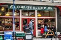 Grand Central Bakery, Sellwood, Snow Storm