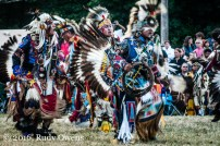 Fancy Dancing at the Pow-Wow, Seattle Seafair