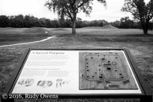 Hopewell Mound Intepretation Sign