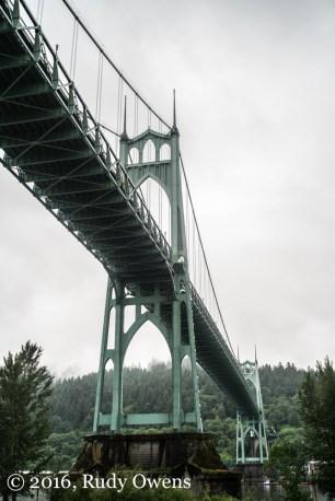 St. John's Bridge, Its Gothic Glory