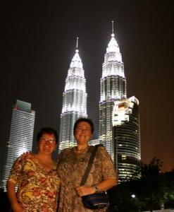 A Stop at the Towers in Kuala Lumpur
