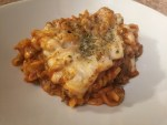 Easy Cheesy Asparagus Tortellini Bake