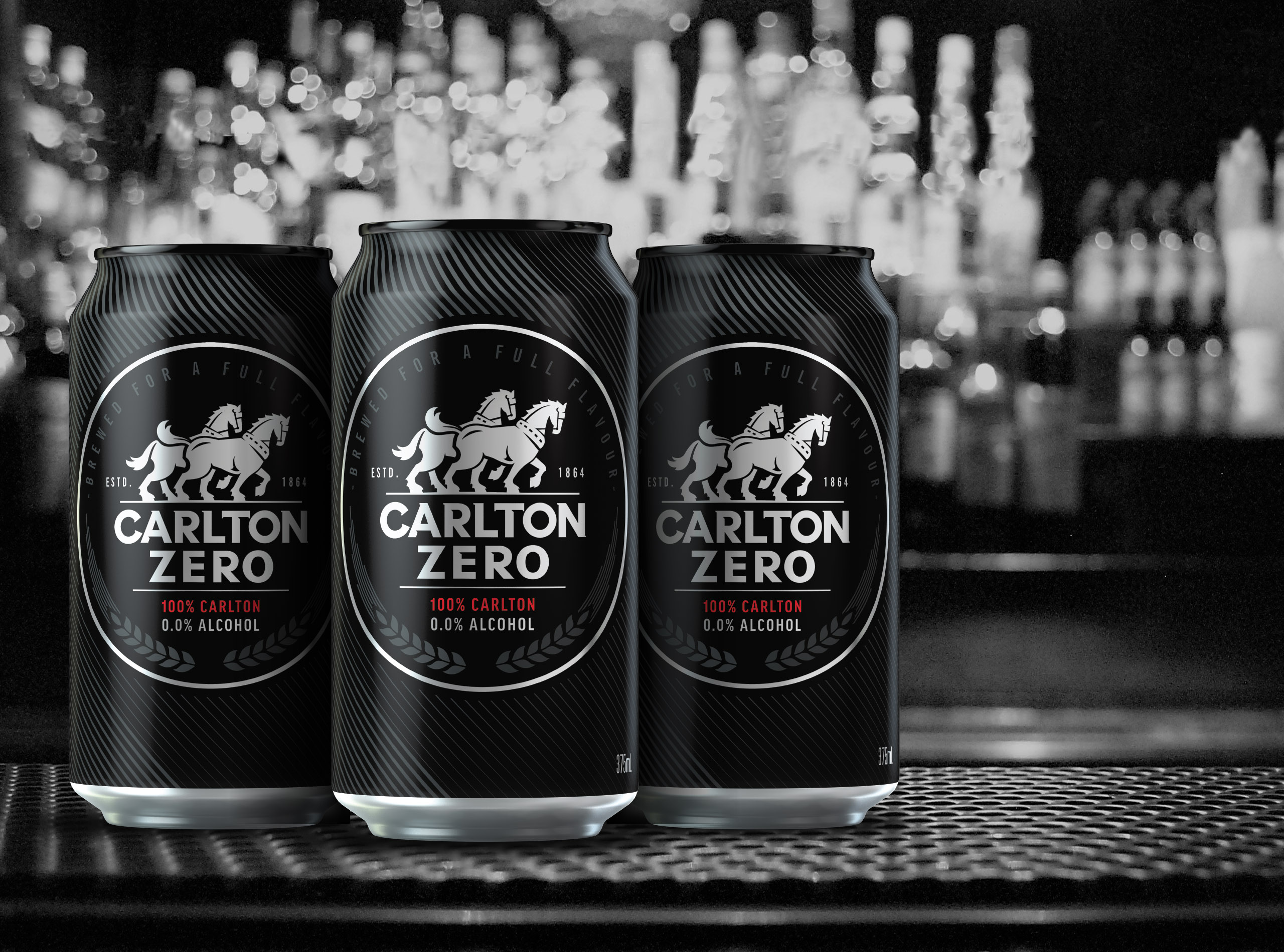 Carlton zero at bar