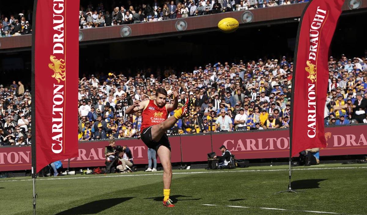Carlton Draught AFL Flags