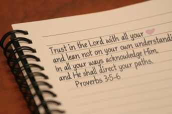 proverbs 3 5 to6