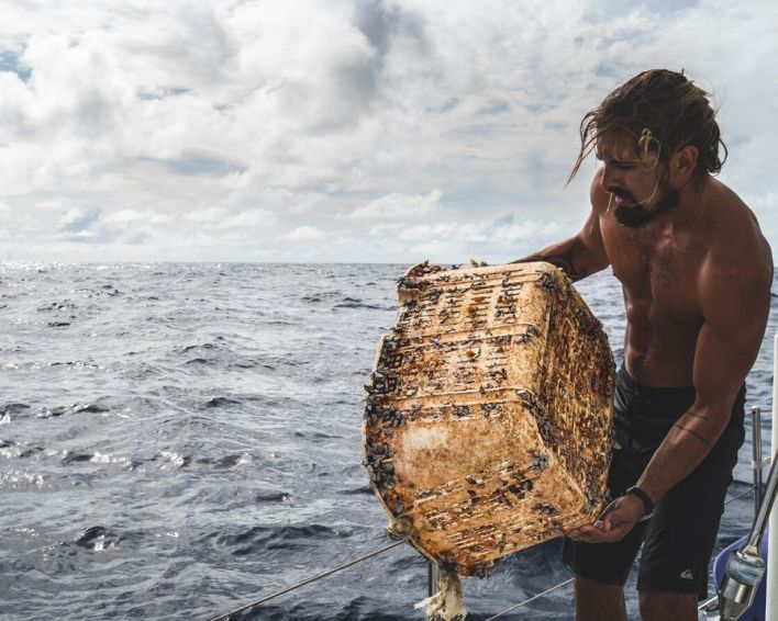meet the guy swimming through the great pacific garbage patch 5 - Meet the guy swimming through the Great Pacific Garbage Patch