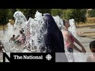record highs scorch france uk as heat wave grips europe - Record highs scorch France. UK. As heat wave grips Europe.