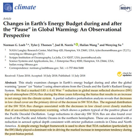 nasa we cant model clouds so climate models are 100 times less accurate than needed for projections 3 - NASA: We Can't Model Clouds, So Climate Models Are 100 Times Less Accurate Than Needed For Projections