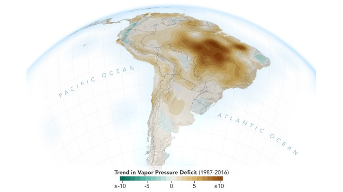 human activities are drying out the amazon nasa study - Human Activities Are Drying Out the Amazon: NASA Study