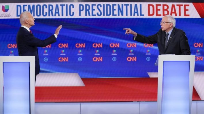 whos your climate champion sanders and biden vied for the title at sundays debate - Who's your climate champion? Sanders and Biden vied for the title at Sunday's debate