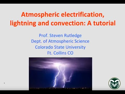 atmospheric electricity lightning and convection - Atmospheric Electricity, Lightning and Convection