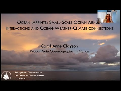 ocean imprints small scale air sea interactions and ocean weather climate connections - Ocean imprints: Small-scale air-sea interactions and ocean-weather climate connections