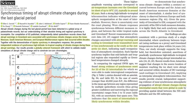 there were 23 global warming jolts many times faster and greater than modern during the last glacial 2 - There Were 23 Global Warming Jolts Many Times Faster And Greater Than Modern During The Last Glacial
