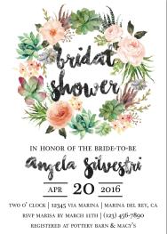 Bridal Shower Invite 5