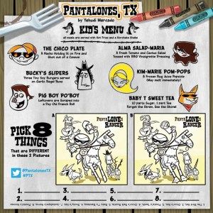 FCBD 2013-Pantalones TX Preview