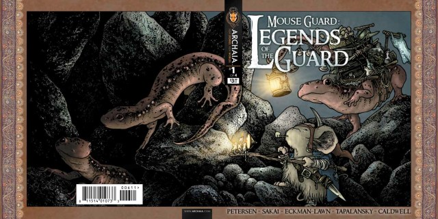 Mouse Guard Legends of the Guard v2 001 Cover Wrap