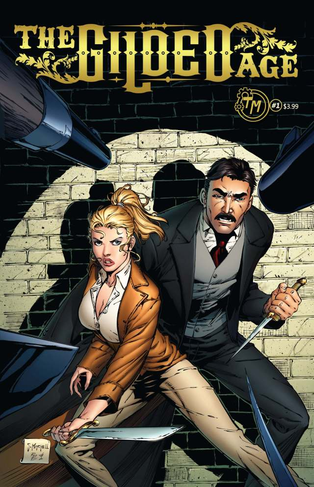 The Gilded Age, A Truly Character Driven Steampunk Comic