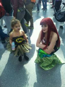 batgirl and ariel
