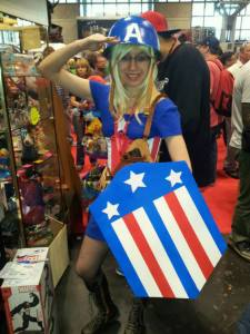 cap girl