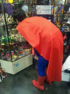 superman shopping for